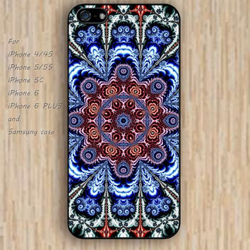 iPhone 5s 6 case mandala flowers dream catcher colorful phone case iphone case,ipod case,samsung galaxy case available plastic rubber case waterproof B602