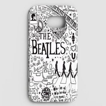 Personalized The Beatles Samsung Galaxy S8 Case