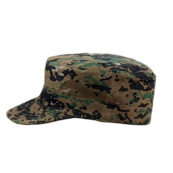 HOT New Unisex Men Women Camo Camouflage Patrol Hat Army Caps Gorras Snapback Baseball Cap Trucker casquette Cheap Z1
