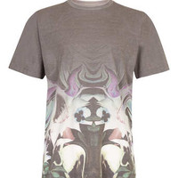 Taxonomy Black Floral Fade Out T-Shirt - Men's T-shirts & Tanks  - Clothing
