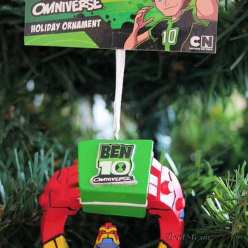 Licensed cool NEW 2013 ANIME BEN 10 OMNIVERSE ALIEN BLOXX 3-D Christmas Holiday Tree Ornament
