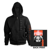 Demi Lovato Official Store | TMYLM Zip Hoodie