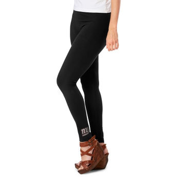 Meesh & Mia New York Giants Ladies Team Leggings - Black