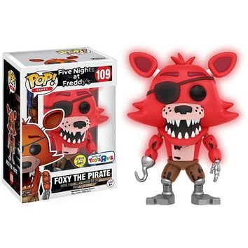 Foxy the Pirate Five Nights at Freddy's Funko Pop! #109 TRU Exclusive Glow Dark