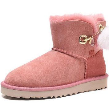Fashion UGG Pink LIMITED EDITION CLASSICS Boots Women Shoes 1017501