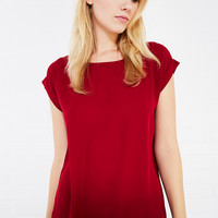 Cuff-Sleeved Blouse | Wet Seal
