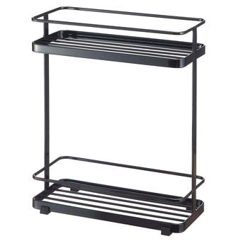 Tower Bath Rack, Black, Towel Racks
