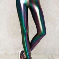 Nasty Gal Trip and Slide Hologram Leggings