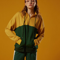 Retro Green/Yellow Pullover