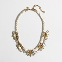 Factory embellished rope necklace : Necklaces | J.Crew Factory