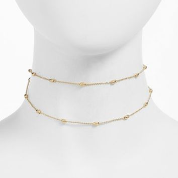 Jules Smith Aiden Double Layer Choker | Nordstrom