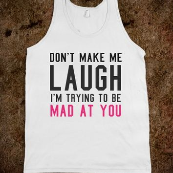 MAD AT YOU