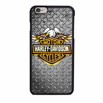 harley davidson motorcycle logo iphone 6 6s 4 4s 5 5s 6 plus cases
