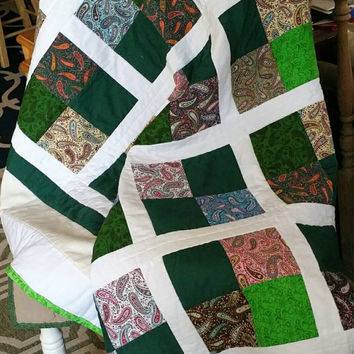 homemade quilts - throw quilt -  twin quilt handmade -  full quilt  - patchwork quilt - homemade quilts for sale - kids quilt