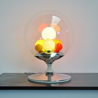 Mid Mod Design » Angelo Brotto Barbarella table lamp for Esperia 1965