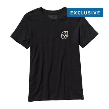 Patagonia Men's P Moon Lightweight Cotton T-Shirt | Black