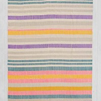 Plum & Bow Painted Stripe Printed Rug-