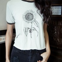 NADINE SUNFLOWER TOP