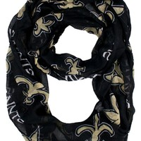 New Orleans Saints Infinity Scarf