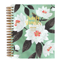 2017 Mint Floral Planner by 1Canoe2
