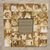 """Personalized Mother of the Bride Collage Picture Frame, Custom Wedding, Anniversary Frame, Parent Gift 12"""" x 12"""""""