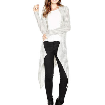 Michael Lauren Ozzy Draped Cardigan
