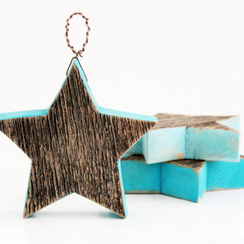 Vintage Barnwood Stars, Holiday Decor