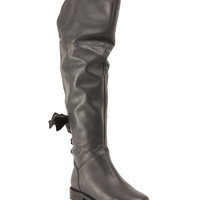 Made In Italy Over The Knee Leather Boots - Boots - T.J.Maxx