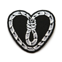 Heart Noose Patch