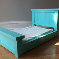 Farmhouse Doll Bed for 18in Dolls