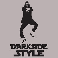 Stabilitees Funny Starwars Darth Vader Darkside Style inspired by Gangnam Style T Shirts