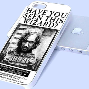 Sirius Black Wanted Poster iPhone case, iPhone 4/4s/5/5c/5s Case, Samsung Galaxy s3/s4 case cover