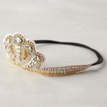 Sequined Circlet Crown by Anthropologie