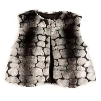 Appaman Pebble Fur Vest