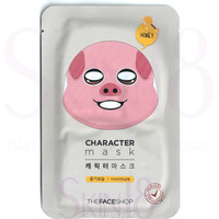 The Face Shop Character mask - Pig (Moisturizing + Honey)