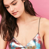 Out From Under Lena Metallic Micro Skinny Bra - Urban Outfitters