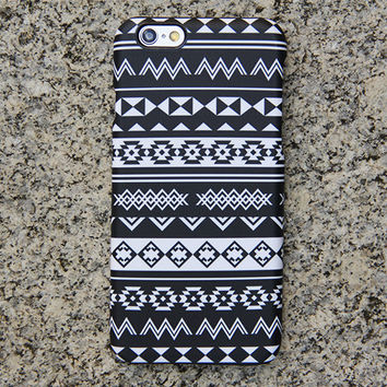 Black White Tribe iPhone 6s Case | iPhone 6 plus Case | iPhone 5 Case | Galaxy Case 3D 024