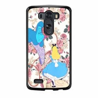 Alice In Wonderland Floral LG G3 Case