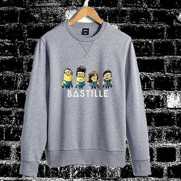 bastille minion Sweatshirt Crewneck Men or Women