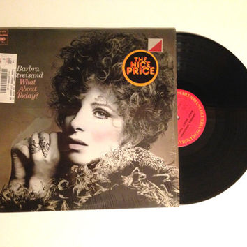 LP Record Barbra Stresiand What About Today Vinyl Album Honey Pie Little Tin Soldier