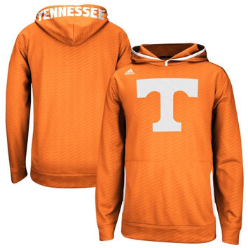 Tennessee Volunteers adidas 2014 Sideline Player Hooded Sweatshirt - Tenn Orange