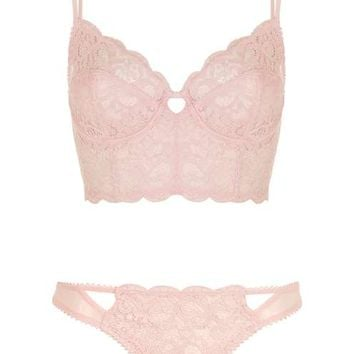 Cotton Lace Bralet