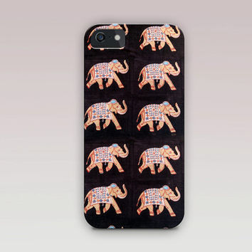 Indian Elephant Phone Case For - iPhone 6 Case - iPhone 5 Case - iPhone 4 Case - Samsung S4 Case
