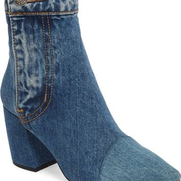 Jeffrey Campbell Finite Block Heel Bootie (Women) | Nordstrom