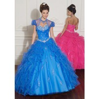 Sweetheart ball gown Quinceanera dress