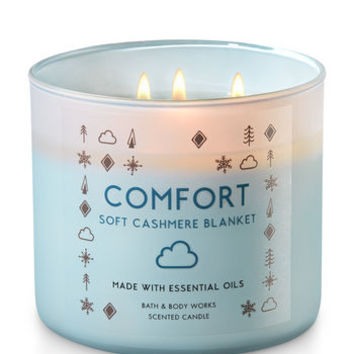 SOFT CASHMERE BLANKET3-Wick Candle