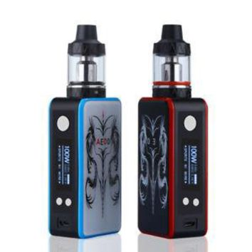 100W Tank Electronic Vape Cigarettes E Pen Starter Kit Control Battery 3000mAh