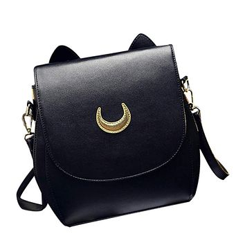 Handbags Sailor Tsukino Usagi Leather Women Handbag Shoulder Bag Women's Zipper Versatile Handbag borsetta donne