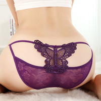 funshop — Lace Hipster Shortie with Butterfly Back 01