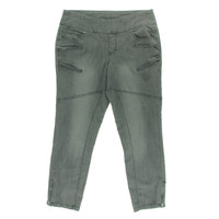 Jag Womens Denim Pull On Skinny Jeans